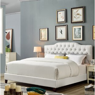 Brewington Upholstered Platform Bed by House of Hampton