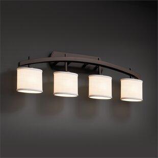 Latitude Run Red Hook Archway 4 Light LED Oval Vanity Light
