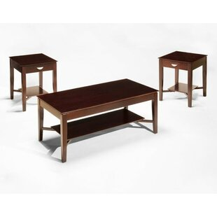Duplessis 3 Pieces Coffee Table Set