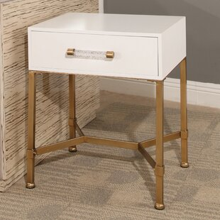 Camilla End Table with Storage by Mercer41