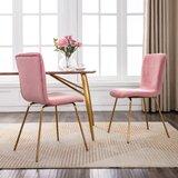 Velvet Side Chair (Set of 2)