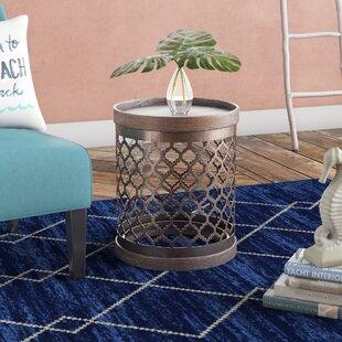 Lauryn Quatrefoil End Table By Mistana