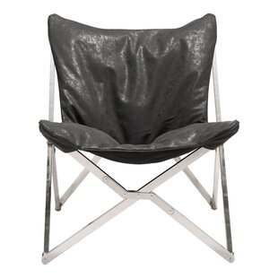 Review eirenne Lounge Chair by Orren Ellis