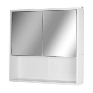 Review 60cm X 60cm Surface Mount Mirror Cabinet