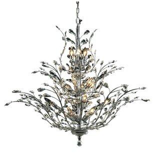 Lamons 18-Light Candle Style Chandelier