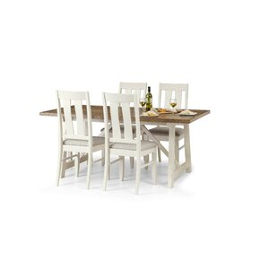 Bazemore Dining Set With 4 Chairs By Brambly Cottage