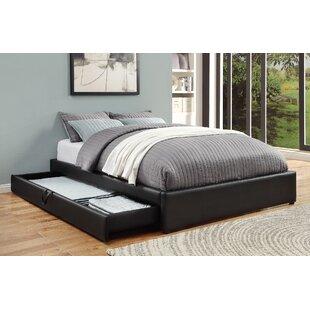Read Reviews Morningside Upholstered Storage Platform Bed by Ebern Designs