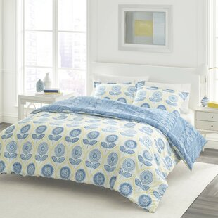 Studio Sunflower Cotton Reversible Comforter Set by Laura Ashley Home