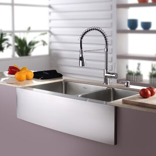 Kitchen Sink Combos Youll Love Wayfair - Kitchen sink and faucet combo