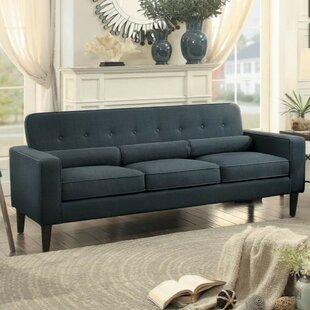 Shop Coleg Button Tufted Sofa by Ivy Bronx