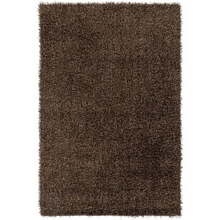Mchaney Hand-Tufted Brown Area Rug by Brayden Studio