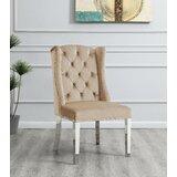 Elmina Tufted Velvet Upholstered Side Chair (Set of 2) by Rosdorf Park
