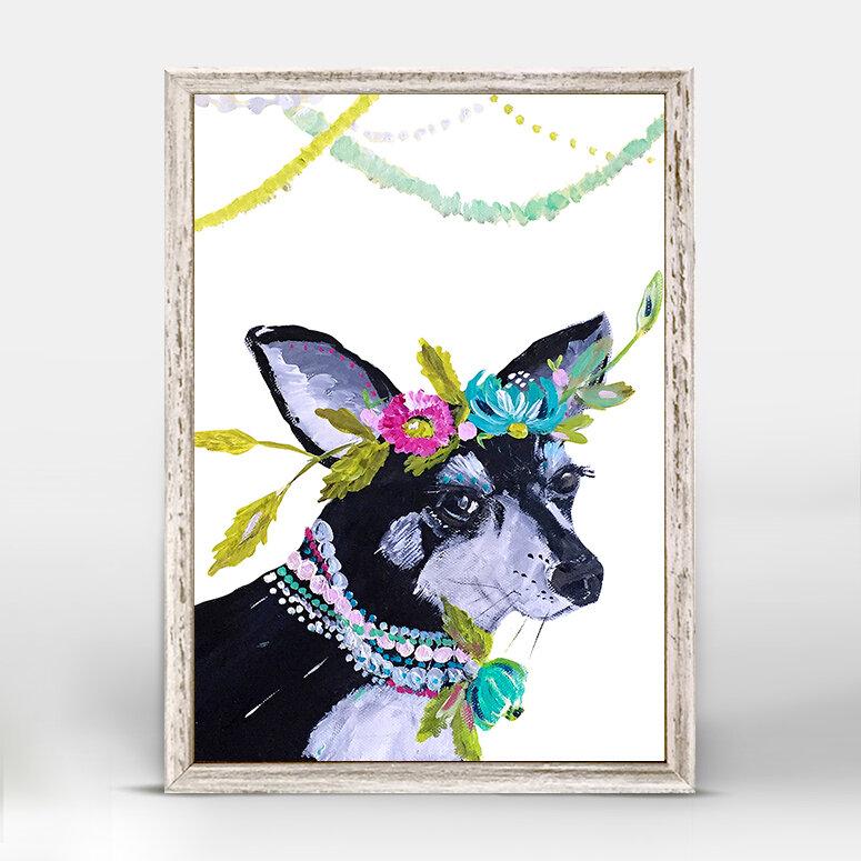 Trinx Casey Boho Pearl Mini Framed Art Wayfair