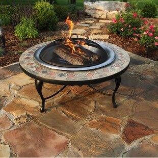 Corral Hawthorne Steel Wood Burning Fire Pit table