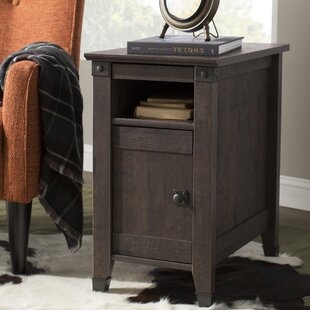 Ellicott Mills End Table With Storage Andover Mills