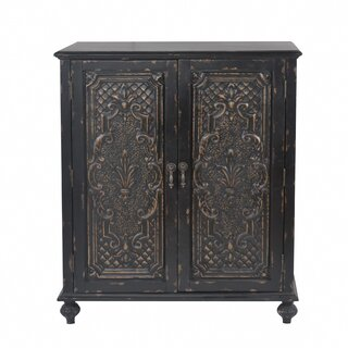 Wiest Ornate Front 2 Door Accent Cabinet by Bloomsbury Market SKU:ED638936 Guide