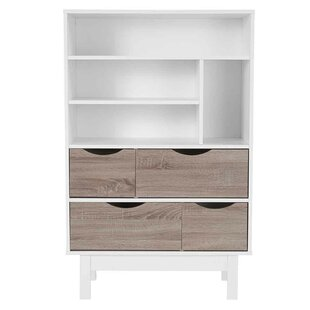 Pouliot Standard Bookcase by Ebern Designs