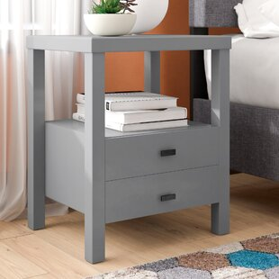Leflore 2 Drawer Nightstand