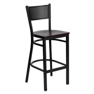 Barker Series 30.25 Bar Stool (Set Of 2) by Red Barrel Studio Great Reviews