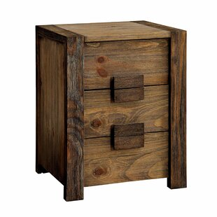 Find the perfect Perrault 3 Drawer Nightstand by Union Rustic