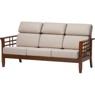 Wholesale Interiors Baxton Studio Armanno 3 Seater Living Room Sofa