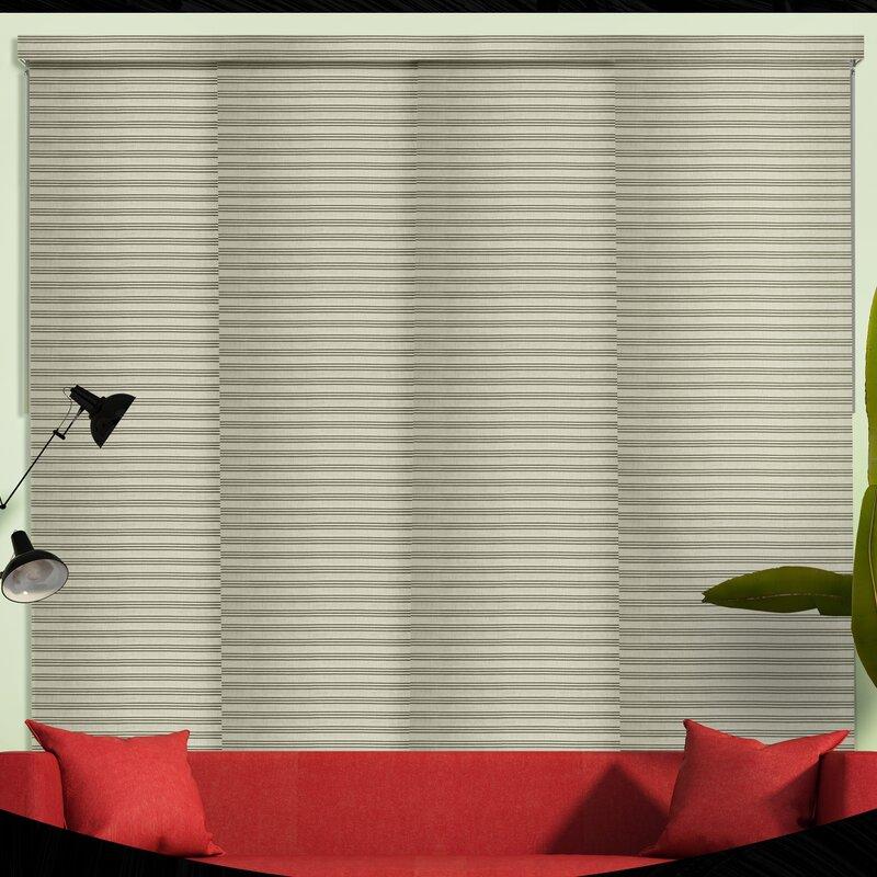 Sliding Panel Room Darkening Vertical Blind