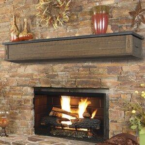 austin 2 drawer storage fireplace mantel shelf