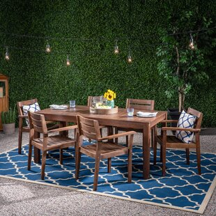 Rachelle Patio 7 Piece Dining Set
