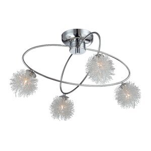 Kenlee 4-Light Semi Flush Mount