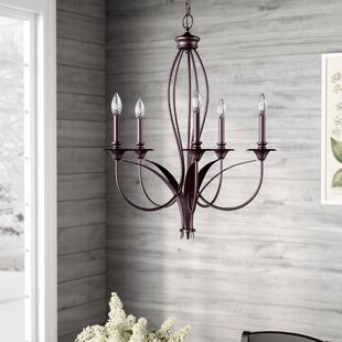 August Grove Tarres 5-Light Chandelier