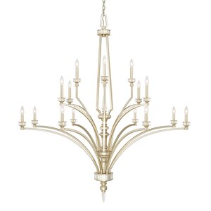 Peter 16-Light Candle-Style Chandelier