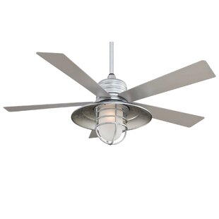54 RainMan 5 Blade Outdoor Ceiling Fan
