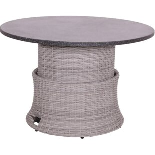 Soho Rattan Dining Table Image