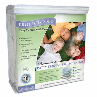 Premium Potty Training Hypoallergenic Waterproof Mattress Protector Kit