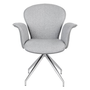 Celestina Swivel Arm Chair (Set of 2) by Orren Ellis
