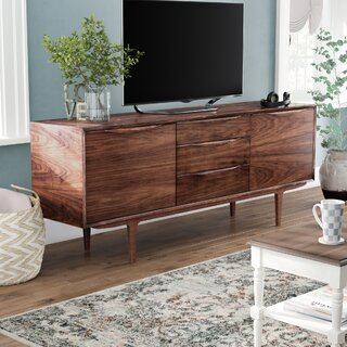 Ahmed Solid Wood TV Stand for TVs up to 85 inches by Corrigan Studio