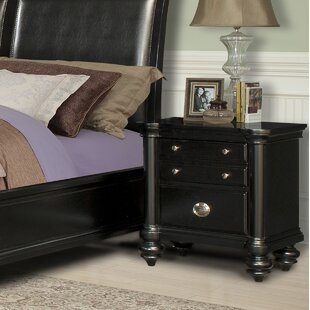 Maner 2 Drawer Nightstand by Charlton Home