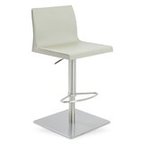Polo Adjustable Height Swivel Bar Stool by sohoConcept