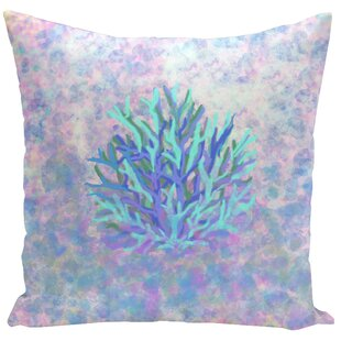 Decorative Coral Throw Pillow
