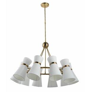 Bill Arterior 10-Light LED Cluster Pendant by Wrought Studio