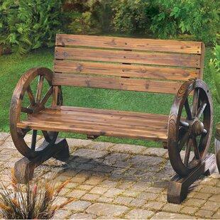 Loon Peak Ketcha Wood Garden Bench