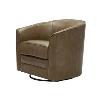 Ivy Bronx Mauldin Swivel Barrel Chair