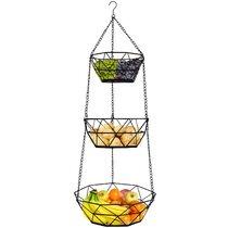 Hanging Kitchen Basket Wayfair