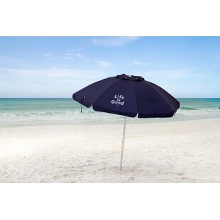 Life is Good 7' Beach Umbrella by LifeIsGood