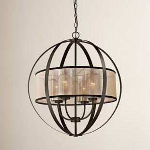 Dailey 4-Light Globe Chand..