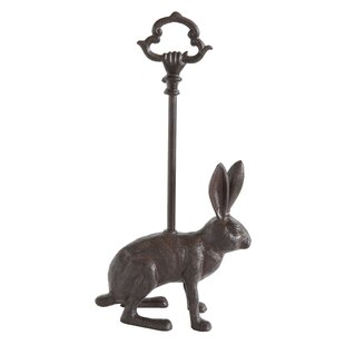 Ordinaire Quintal Cast Iron Rabbit Door Stopper