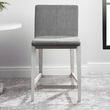 Mukrime 25'' Counter Stool by Gracie Oaks