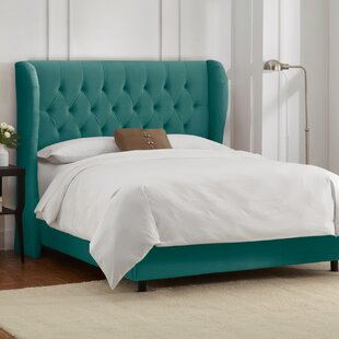 Ahumada Upholstered Panel Bed