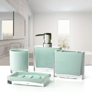 Immanuel Iced 4-Piece Bathroom Accessory Set