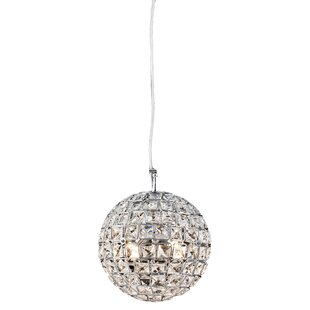 Aguinaldo Crystal Beaded 4-Light Crystal Pendant by Everly Quinn